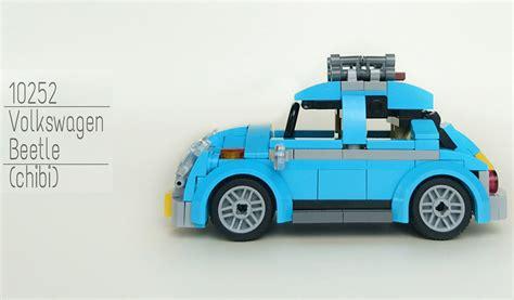 lego creator volkswagen beetle  tiny version   moc zusammengebaut