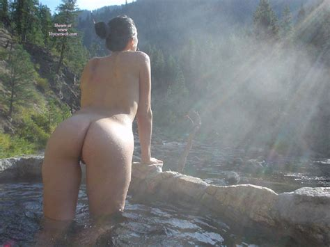Naked And Viewed From Behind In A Cool Stream Pool November Voyeur Web Hall Of Fame