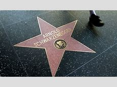 HOLLYWOOD - MARCH 2: Arnold Schwarzenegger's And Judy ... Hollywood Walk Of Fame Stars Michael Jackson