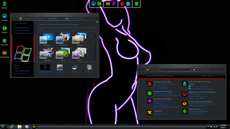 neon themes for windows 10 neon skinpack for win10 8 1 7 skinpack customize your
