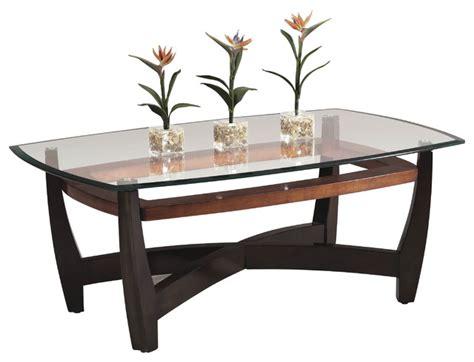 bassett mirror elation rectangular cocktail table t1078
