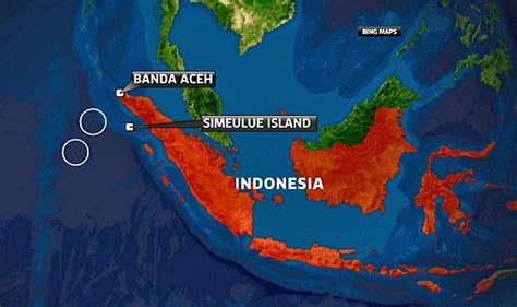 earthquake ubud bali earthquake map bali