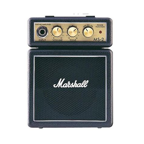 Mini Portable Guitar Lifier Marshall Ms2 Original 2017 marshall ms2 mini guitar lifier portable electric guitar speaker marshall ms 2 mini