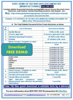 Iso 9001 2015 Documents Manual Process Audit Checklist Templates Iso 9001 2015 Checklist Excel Template
