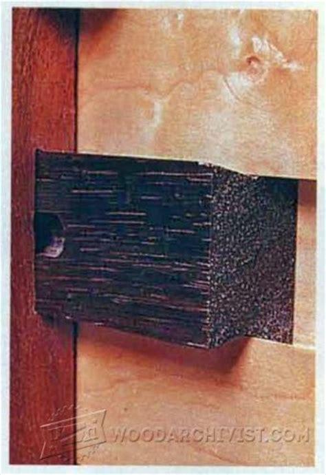 Making Wooden Drawer Slides ? WoodArchivist