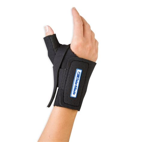 cool comfort thumb splint cool comfort cmc thumb restriction splint sports