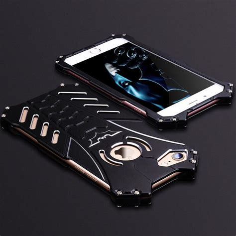 Casing Hp Samsung S6 Edge Batman Custom Hardcase Cover r just batman shockproof aluminum shell metal with custom stent for iphone 7 plus samsung
