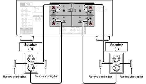 bi wiring speakers diagram wiring diagram with description