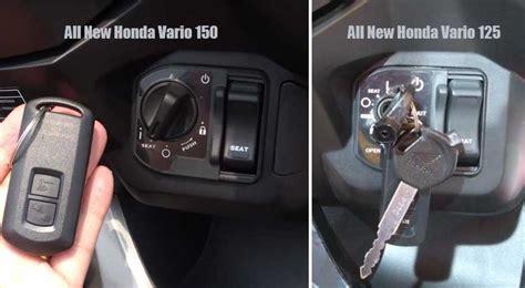 Kunci Kontak Vario Ahm ini perbedaan all new honda vario 150 dan all new honda