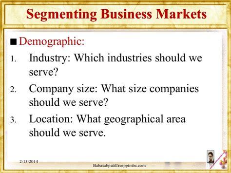Industrial Segmentation In Mba by Segmentation Module 4 Mba 1st Sem By Babasab Patil
