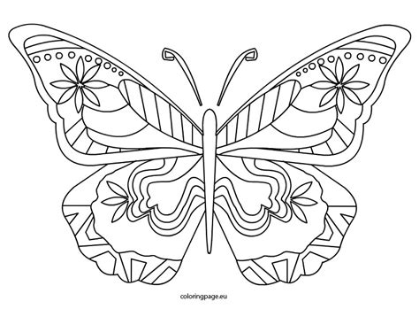 butterfly coloring sheet related coloring pagesbutterflybutterfly coloring
