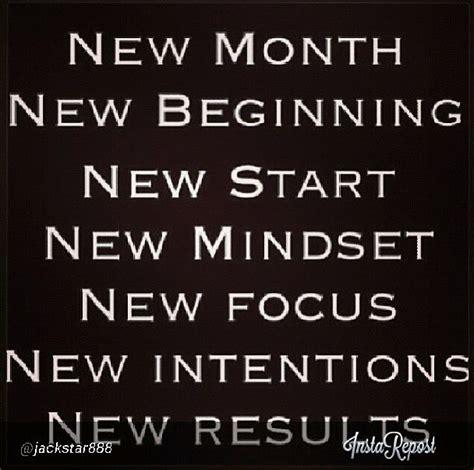 new month new beginning new start new mindset new