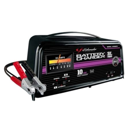 battery chargers cycle se 70ma schumacher 12 24 volt 10 fully automatic