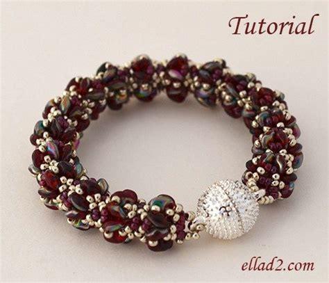 beading tutorials bracelet merlot beading patterns and tutorials by ellad2