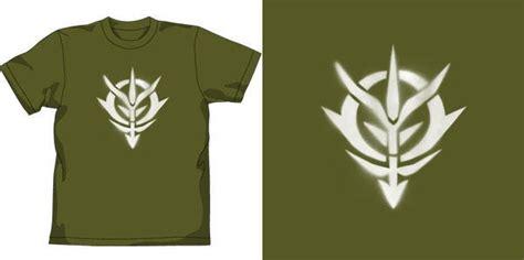 Kaos Gundam Zeon Logo T Shirt Raglan Anime Mobile Suit gundam zeon shirt images