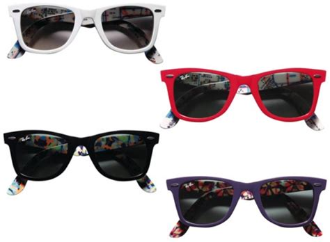 Rayban Wayfarer Print ban prints wayfarer sunglasses freshness mag
