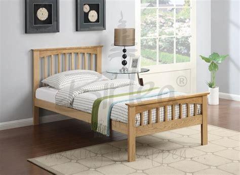 single oak bed frame birlea saunton 3ft single solid oak bed frame by birlea