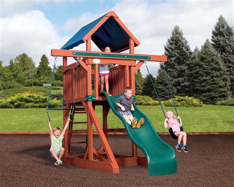 space saving swing sets swingsets and playsets nashville tn adventure treehouse