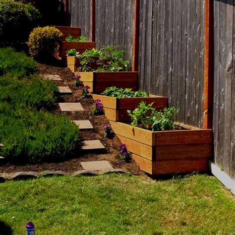 Sloped Garden Ideas Amazing Ideas To Plan A Sloped Backyard That You Should Consider