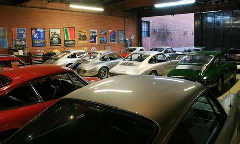 Magnus Walker Porsche Jpginside The Garage Of Magnus