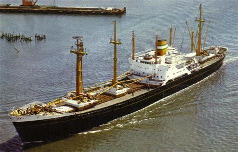 schip holland amerika lijn in rotterdam de k serie schepen van de hal te rotterdam ms