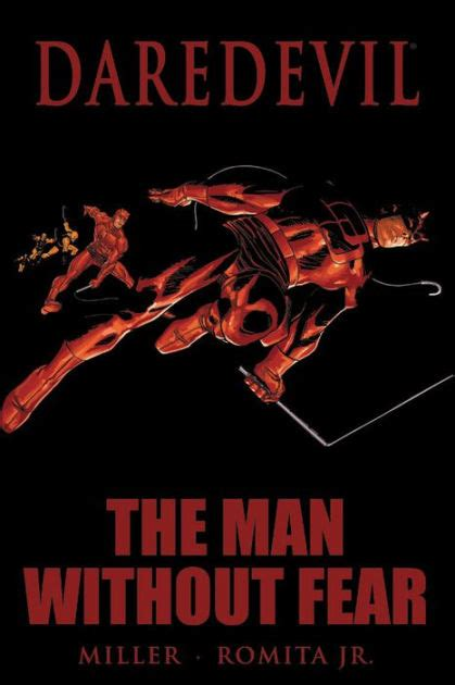 daredevil by frank miller 0785134751 daredevil the man without fear by frank miller john romita paperback barnes noble 174