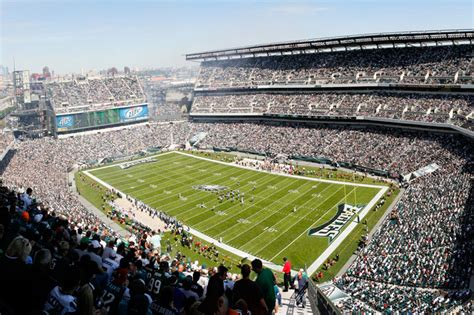 Standing Room Lincoln Financial Field by Our Guide To Football At Lincoln Financial Field