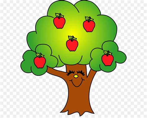 apple tree clipart apple tree fruit clip tree clip png