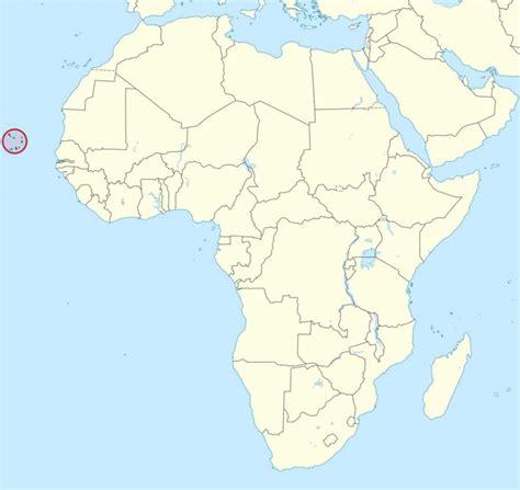 mapa cabo verde capo verde mappa africa capo verde mappa africa africa