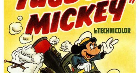 tugboat cartoon movie tugboat mickey 1940 walt disney mickey mouse and mice