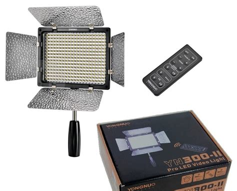 Led Yongnuo yongnuo yn300 ii led pro led lights yongnuo store
