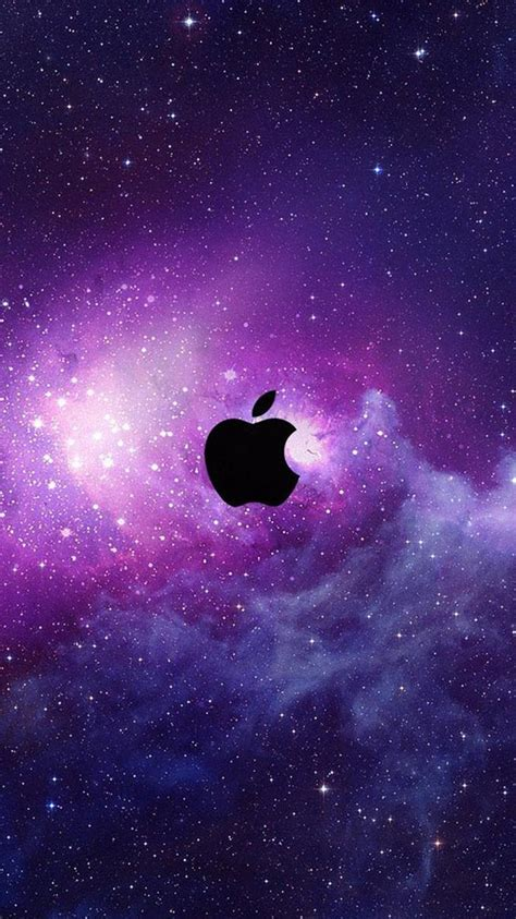 wallpaper iphone 5 interstellar space apple logo 02 iphone 6 wallpapers hd iphone 6