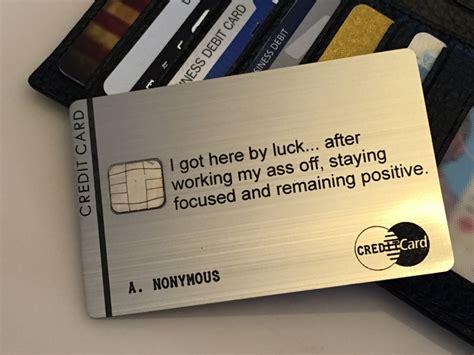 metal card custom metal credit cards