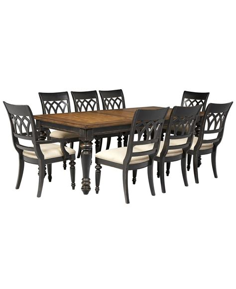 Dakota Dining Room Furniture Collection by Dakota Dining Room Furniture 9 Set Table 6 Side