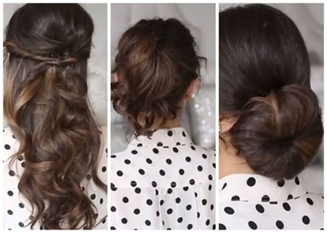tutorial rambut sederhana tutorial rambut wanita gaya sederhana mudah dan menarik