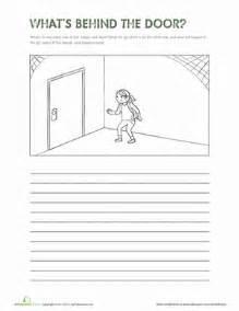 what s behind the door worksheet education com