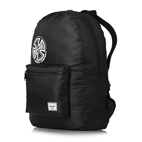 Tas Herschel Packable Backpack herschel packable backpack black independent free uk delivery
