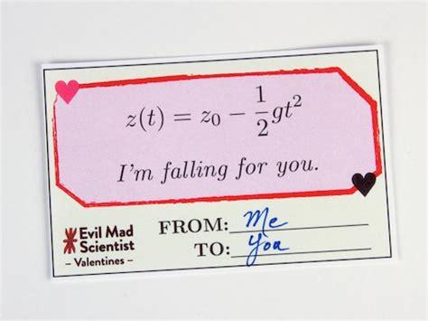 engineering valentines cards and print evil mad scientist valentines