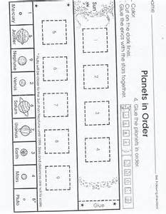 Planet Worksheets by Planets For Kindergarten Pics About Space