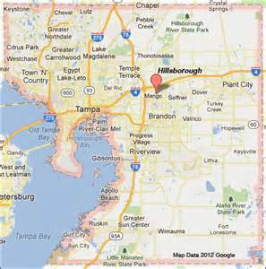hillsborough county florida map hillsborough county florida map