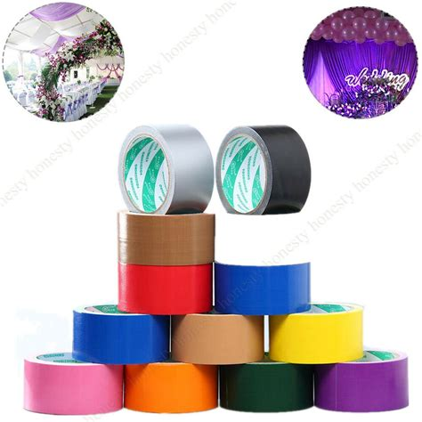colorful duct 15 type colorful waterproof cloth carpet pasting pipe