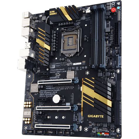 Motherboard Gigabyte Ga Hm110m A gigabyte ga z170x ud5 th lga1151 atx motherboard ga z170x