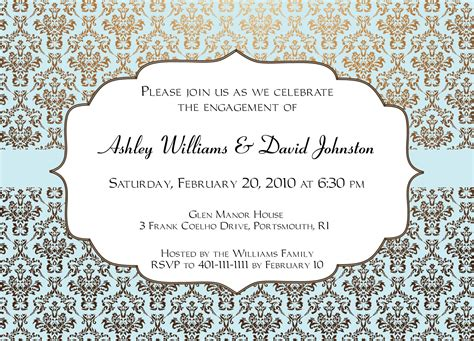 templates of invitation cards engagement invitations templates invitation