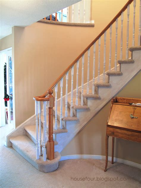 Painting Banister Spindles by What Is A Banister On A Staircase Home Improvement