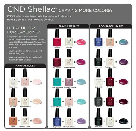 most popular colors cdc nail shellac 25 best ideas about shellac layering on pinterest cnd