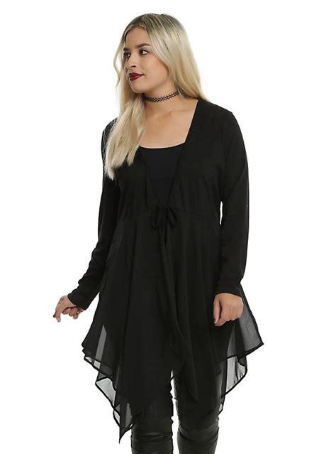 Sweater Murah Inspire black tie front cardigan sweater vest