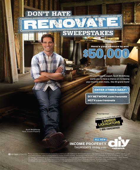 Dont Hate Renovate Sweepstakes - lisa minardi
