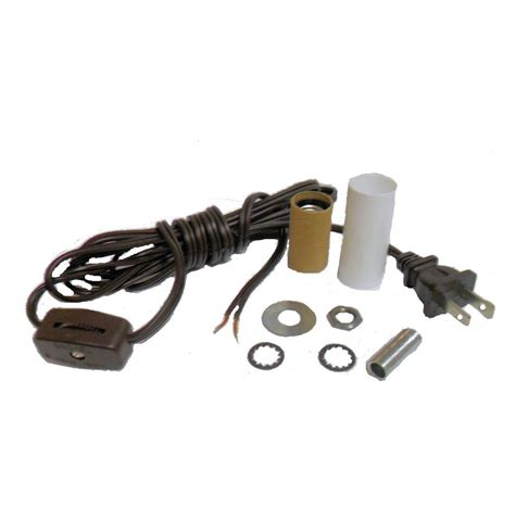 L Cord Switch Install by Mini L Kit Candle Skt Brown Cord Cord W Line Switch Td