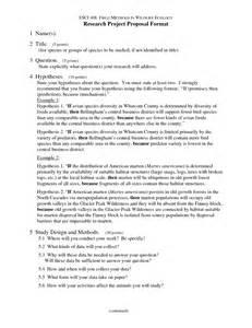 research proposal apa style template