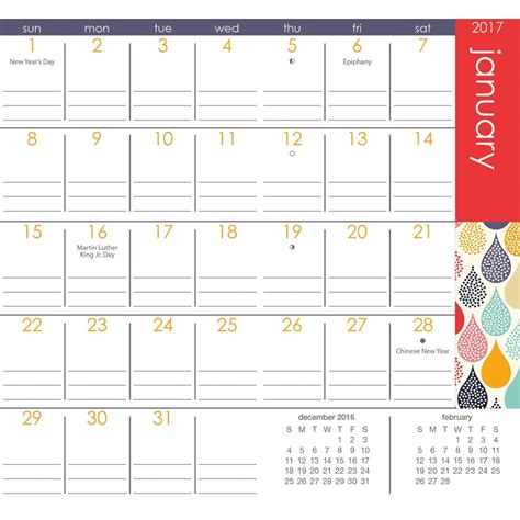 printable family planner calendar 2016 pocket planners printable calendar template 2016